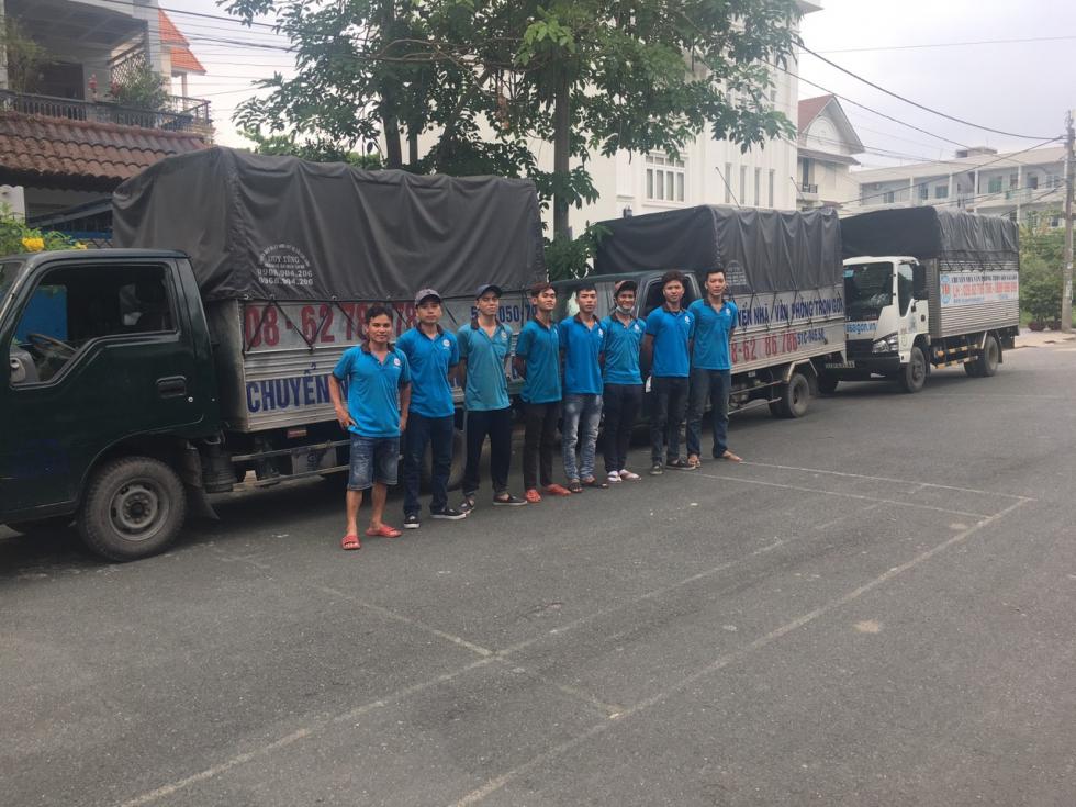 Dịch vụ taxi tải chuyên nghiệp cùng chuyển nhà Tiến Đạt